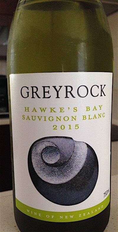 Greyrock 2015 Sauvignon Blanc - Noawa Zelandia